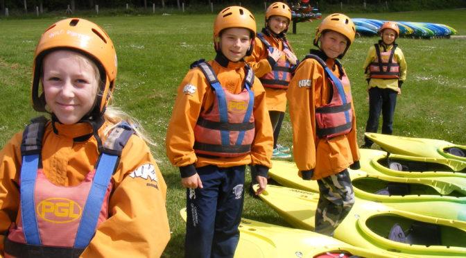 Kayaking at Boreatton Park